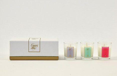 Cofre mini velas perfumadas